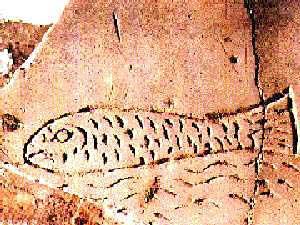 СИМВОЛИЧЕСКОЕ ИЗОБРАЖЕНИЕ Христа из римских катакомб, III в.