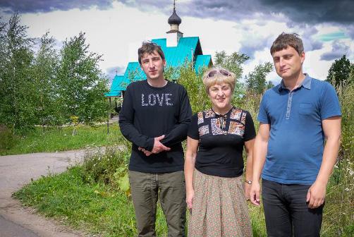 СЕМЬЯ ЛЯПУНОВЫХ: Фёдор, Наталия и Николай