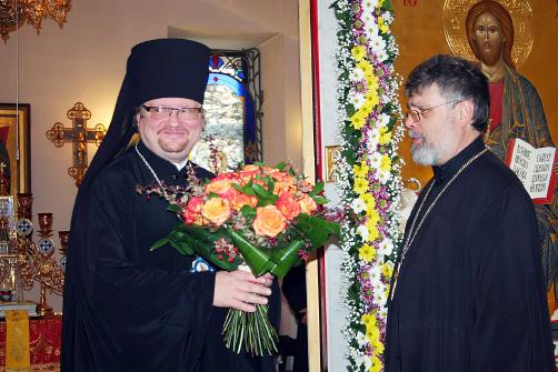 ЕПИСКОП Выборгский и Приозерский Игнатий — всегда желанный гость в юкковском храме